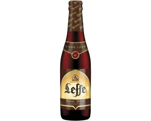 Пиво Leffe Brune 0.33 л