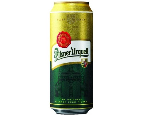 Пиво Pilsner Urquell in can 0.5 л