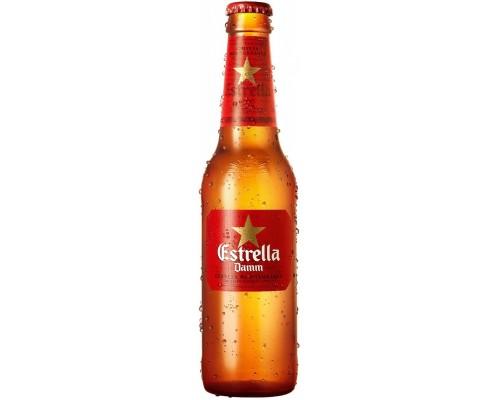 Пиво Estrella Damm 0.33 л