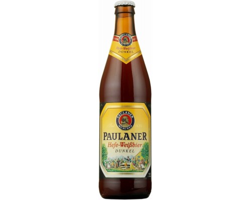 Пиво Paulaner Hefe-Weissbier Dunkel 0.5 л