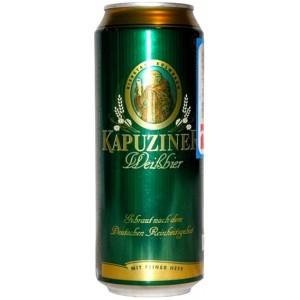 Пиво Kapuziner Weissbier in can 0.5 л