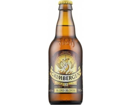 Пиво Grimbergen Blonde 0.33 л
