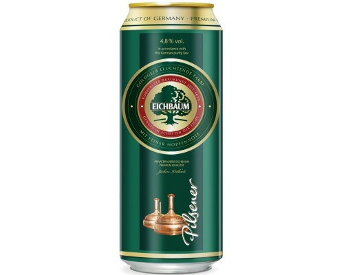 Пиво Eichbaum Pilsener in can 0.5 л