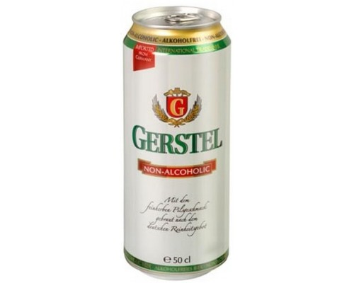 Пиво Gerstel Alkoholfrei in can 0.5 л