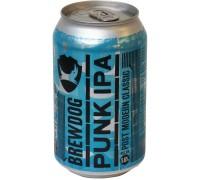 Пиво BrewDog Punk IPA in can 0.33 л