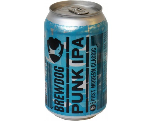 Пиво BrewDog Punk IPA in can 0.33 л