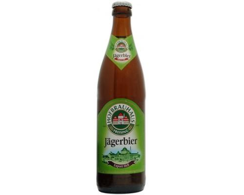 Пиво Hofbrauhaus Freising Jagerbier Export Hell 0.5 л