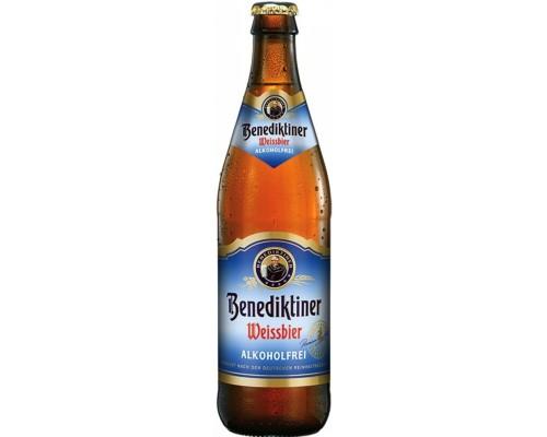 Пиво Benediktiner Weissbier Alkoholfrei 0.5 л