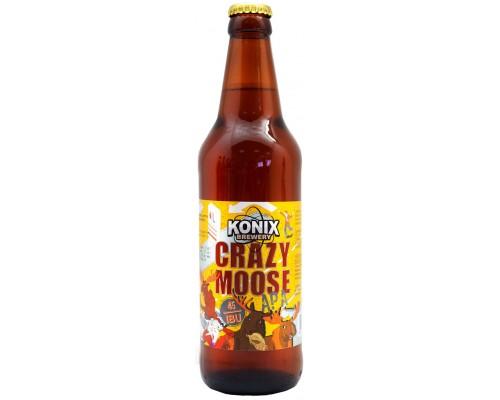 Пиво Сумасшедший Лось Американский Светлый Эль 0.5 л