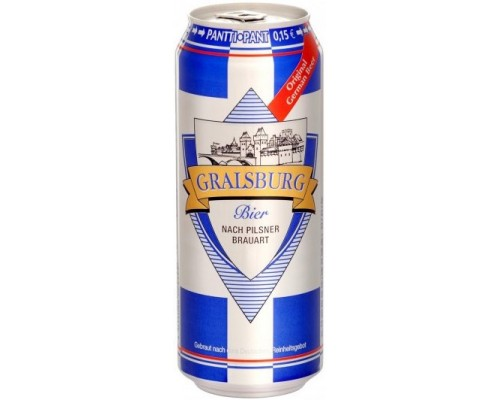 Пиво Gralsburg Bier in can 0.5 л