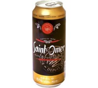 Пиво Saint-Omer Blond de Luxe in can 0.5 л