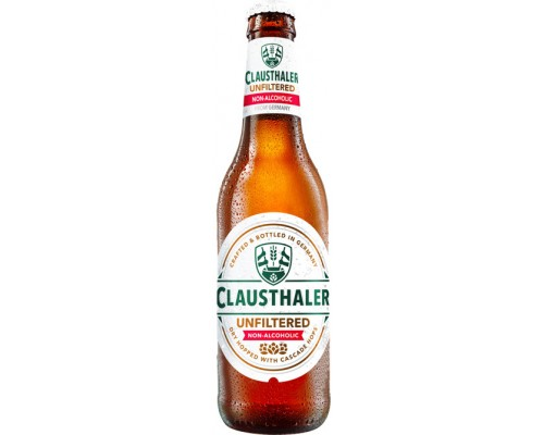 Пиво Clausthaler Unfiltered Non-Alcoholic 0.33 л