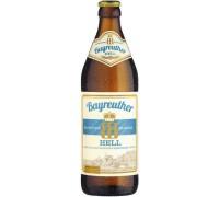 Пиво Bayreuther Hell 0.5 л