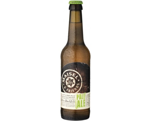 Пиво Maisel & Friends Pale Ale 0.33 л
