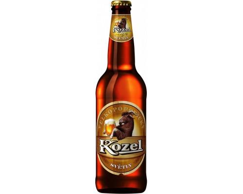 Пиво Велкопоповицкий Козел Светлое 0.5 л