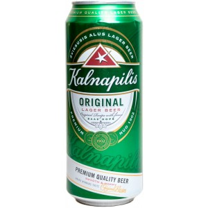 Пиво Kalnapilis Original in can 568 мл