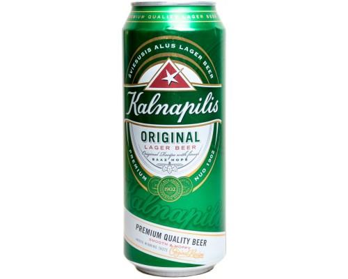 Пиво Kalnapilis Original in can 568 мл