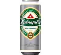 Пиво Kalnapilis Nealkoholinis in can 0.5 л