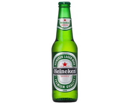 Пиво Heineken Lager (Russia) 0.33 л
