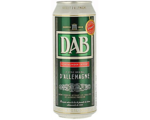 Пиво DAB Dortmunder Export in can 0.5 л