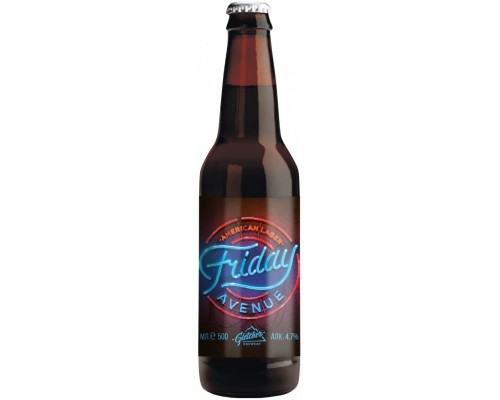 Пиво Gletcher Friday Avenue American Lager 0.5 л