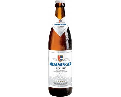 Пиво Memminger Premium 0.5 л