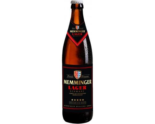 Пиво Memminger Lager Schwarz 0.5 л