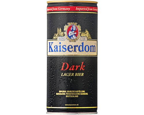 Пиво Kaiserdom Dark Lager in can 1 л