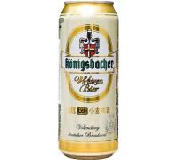 Пиво Konigsbacher Weizen in can 0.5 л