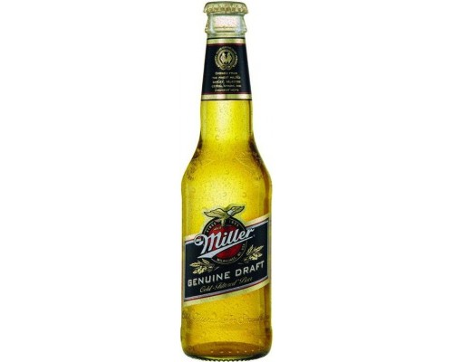 Пиво Miller Genuine Draft (Russia) 0.33 л