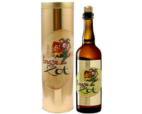 Пиво Brugse Zot Blond in metal tube 0.75 л