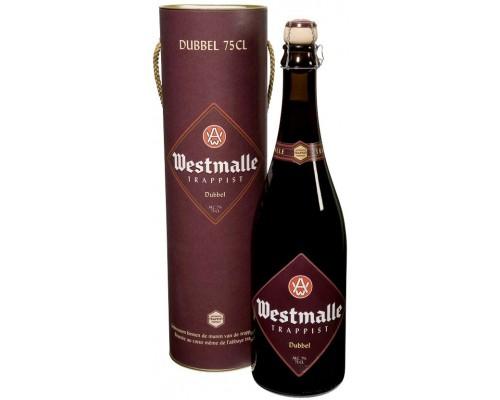 Пиво Westmalle Trappist Dubbel in gift tube 0.75 л