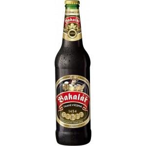 Пиво Bakalar Tmave Vycepni 0.5 л