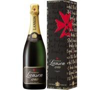 Шампанское Lanson Black Label Brut gift box