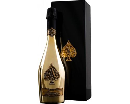 Шампанское Armand de Brignac Brut Gold wooden box
