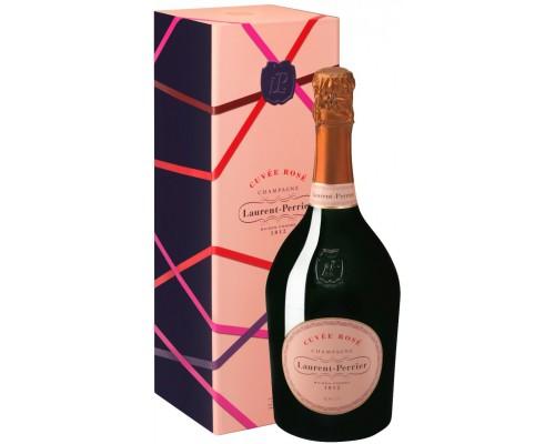 Шампанское Laurent-Perrier Cuvee Rose Brut Christmas box