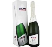 Игристое вино Cinzano Asti Spumante DOCG gift box