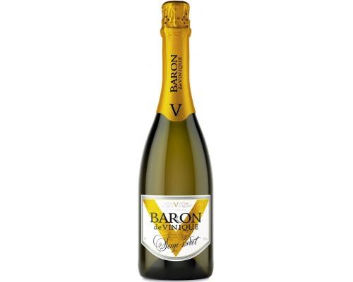 Игристое вино Baron de Vinique Semi-Sweet