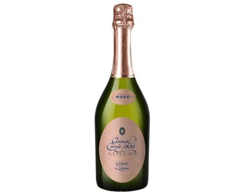 Игристое вино Grande Cuvee 1531 de Aimery Cremant de Limoux Rose
