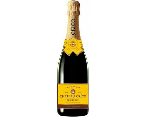 Игристое вино Chateau Crico Demidulce
