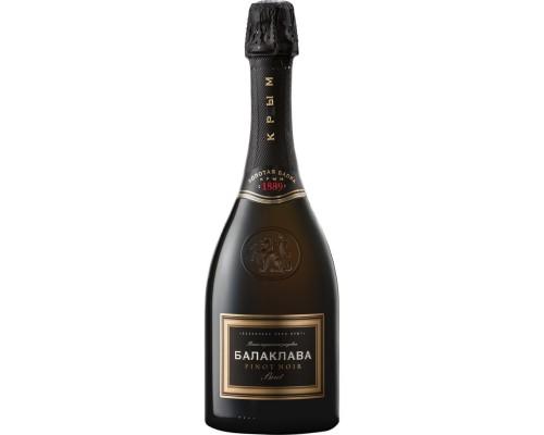 Игристое вино Балаклава Пино Нуар Брют Розе