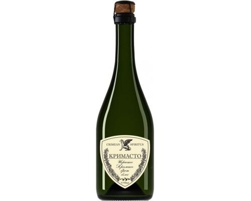 Игристое вино Золотая Балка Кримасто Крымское белое брют