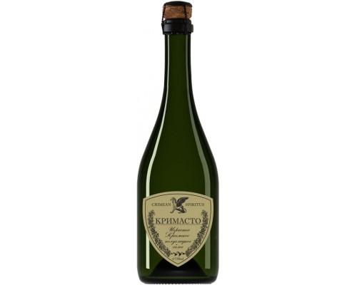 Игристое вино Золотая Балка Кримасто Крымское полусладкое белое
