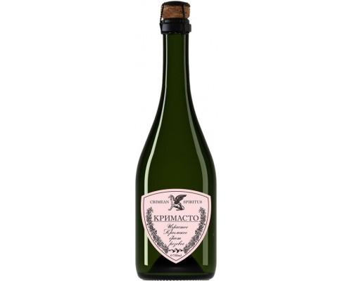 Игристое вино Золотая Балка Кримасто Крымское розовое брют