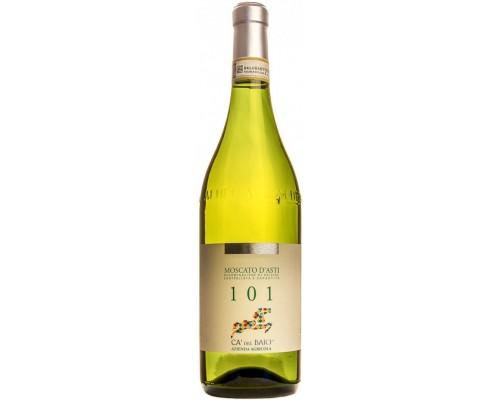 Игристое вино Ca'del Baio 101 Moscato d'Asti DOCG 2015