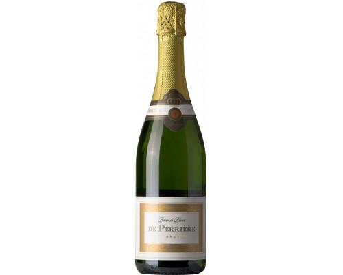 Игристое вино De Perriere Blanc de Blancs Brut 200 мл
