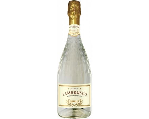 Игристое вино Binelli Premium Lambrusco Bianco Secco Dell'Emilia IGT