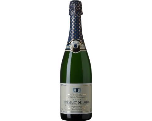 Игристое вино J. de Villaret Brut Cremant de Loire AOC