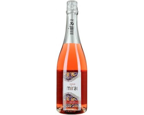 Игристое вино Mirame Rose Brut Cava DO