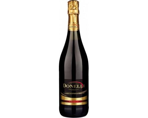 Игристое вино Donelli Lambrusco dell'Emilia IGT Rosso Amabile